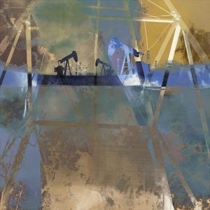 Oil Rig Abstraction I by Sisa Jasper