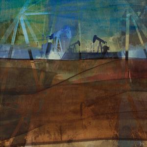 Oil Rig Abstraction II by Sisa Jasper