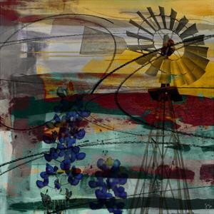 Windmill Abstract by Sisa Jasper
