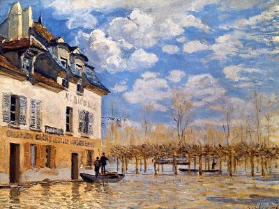 Sisley: Flood, 1876-Alfred Sisley-Giclee Print
