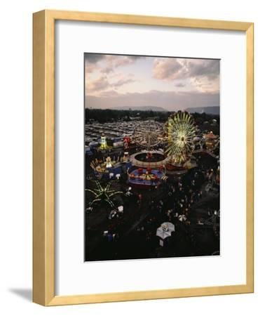 County Fair, Yakima Valley, Rides and Midway, Twilight View