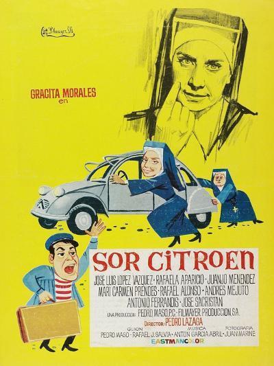 Sister Citroen, 1967 (Sor Citroën)--Giclee Print