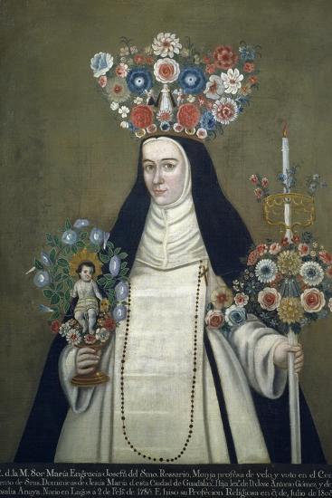 Sister Maria Josefa of Most Holy Rosary, Who Taught at Convent of Jesus of Guadalajara--Giclee Print