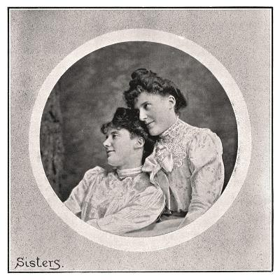 Sisters, 1901- Frederick & Sons Downer-Giclee Print