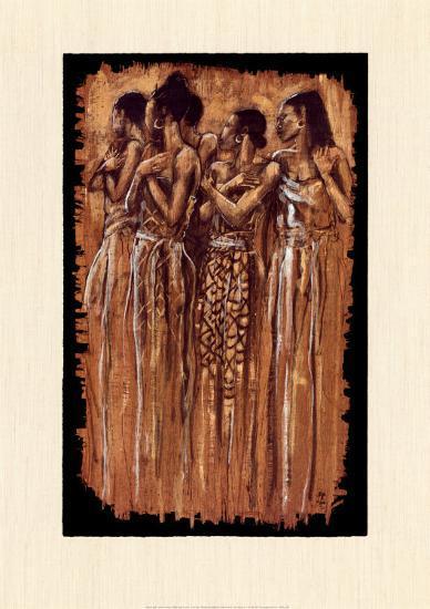 Sisters in Spirit-Monica Stewart-Art Print