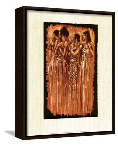 Sisters in Spirit-Monica Stewart-Framed Canvas Print