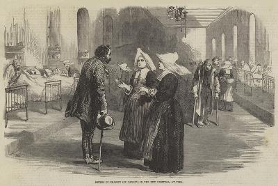 Sisters of Charity (St Benoit), in the New Hospital, at Pera--Giclee Print