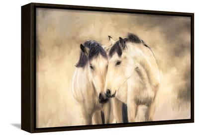 Sisters-Wendy Caro-Framed Canvas Print
