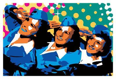 Sisters-Ray Lengel?-Art Print