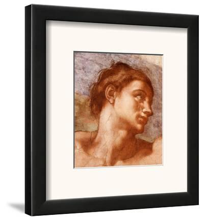 Sistine Chapel-Adam-Michelangelo Buonarroti-Framed Art Print