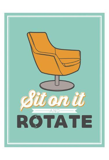 Sit On It-Jace Grey-Art Print