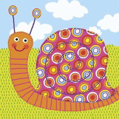 Sita The Snail-Jessie Eckel-Giclee Print