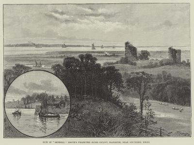 Site of General Booth's Projected Home Colony, Hadleigh, Near Southend, Essex--Giclee Print