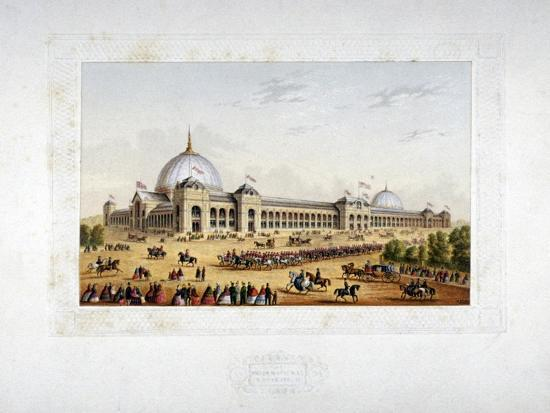 Site of the 1862 International Exhibition, Cromwell Road, Kensigton, London, 1862--Giclee Print
