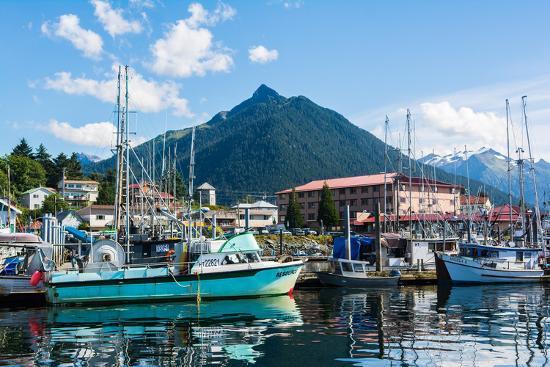Sitka, Alaska, USA-Mark A Johnson-Photographic Print