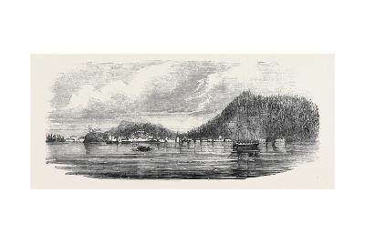 Sitka, the Russian Possession on the North-West Coast of America--Giclee Print
