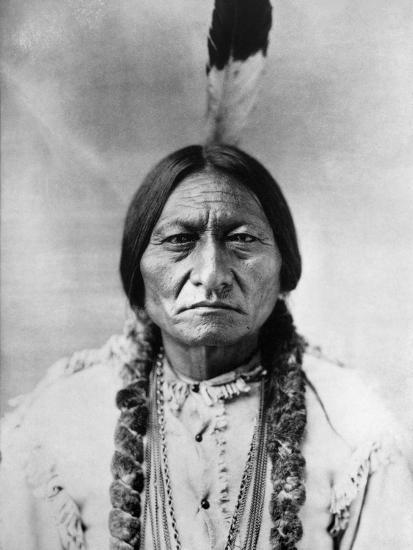 Sitting Bull (1834-1890)--Photographic Print