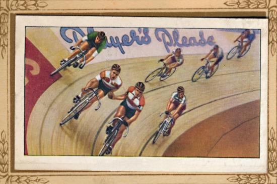 'Six-Day Racing', 1939-Unknown-Giclee Print