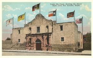 Six Flags on the Alamo, San Antonio, Texas