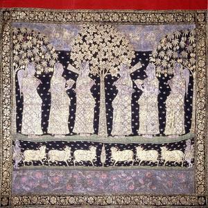 Six Gopis, C. 1800