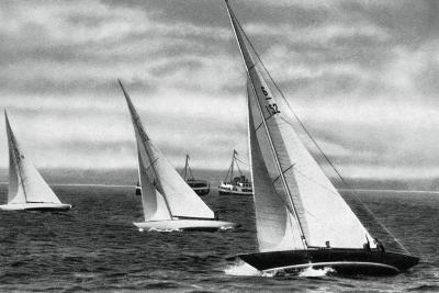 Six Metre R Class Sailing, Berlin Olympics, 1936--Giclee Print