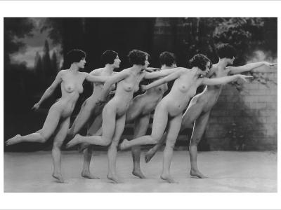 Six Nude Dancers--Photo
