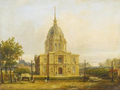 Six petites vues de Paris-Francois Etienne Villeret-Giclee Print