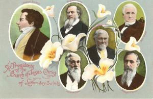 Six Presidents of the Mormons