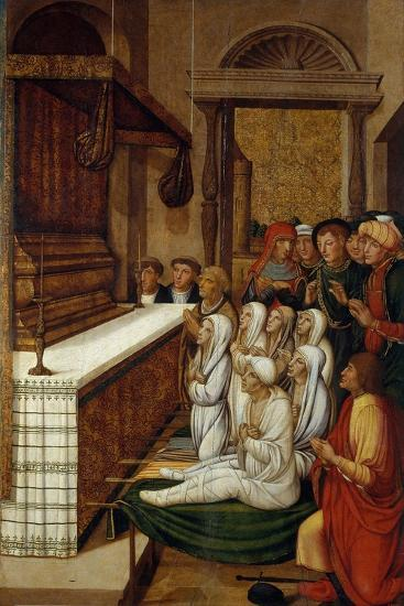 Six Resurrections before the Relics of Saint Stephen-Pere Gascó-Giclee Print