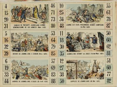 Six scènes de la vie de Jeanne d'Arc--Giclee Print