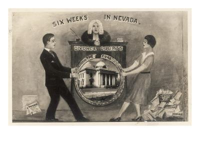 Six Weeks in Nevada - the Cure!--Giclee Print