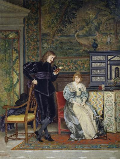 Sixteenth Century Interior Scene-Odoardo Gelli-Giclee Print
