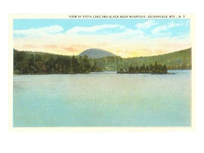 Sixth Lake, Adirondacks, New York--Art Print