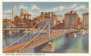 Sixth Street Bridge, Pittsburgh, Pennsylvania