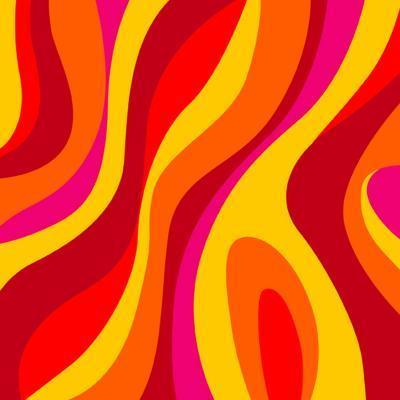 Sixties Design-UltraPop-Art Print