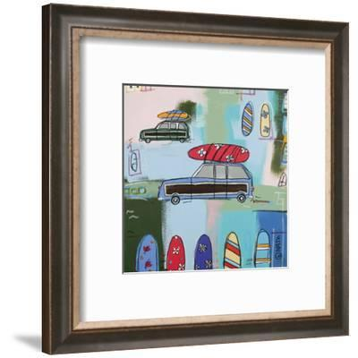 Sixties Wood-Brian Nash-Framed Art Print