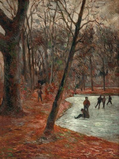 Skaters in the Park in Frederiksberg, 1884-Paul Gauguin-Giclee Print