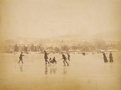 Skating on Windermere--Photographic Print