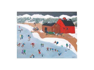 Skating Party-Alexa Alexander-Art Print