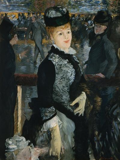 Skating-Edouard Manet-Giclee Print