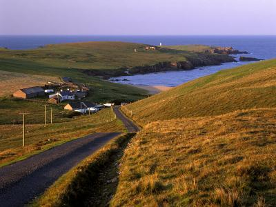 Skaw, Most Northerly House in Great Britain, Unst, Shetland Islands, Scotland, United Kingdom-Patrick Dieudonne-Photographic Print