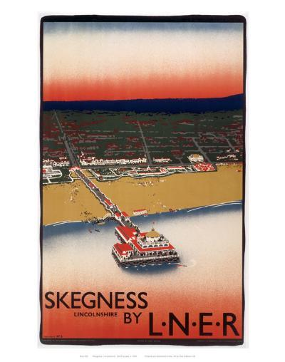 Skegness Form Air--Art Print