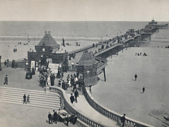 'Skegness - The Pier', 1895-Unknown-Photographic Print