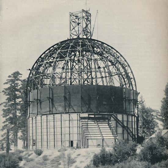 'Skeleton Dome to House an Astronomical Mammoth', c1935-Unknown-Photographic Print