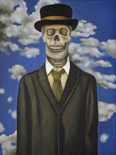 Skeleton from My Closet-Leah Saulnier-Giclee Print