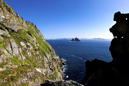 Skellig Michael, County Kerry-Chris Hill-Photographic Print