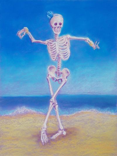 Skelly Dancer I-Marie Marfia-Giclee Print