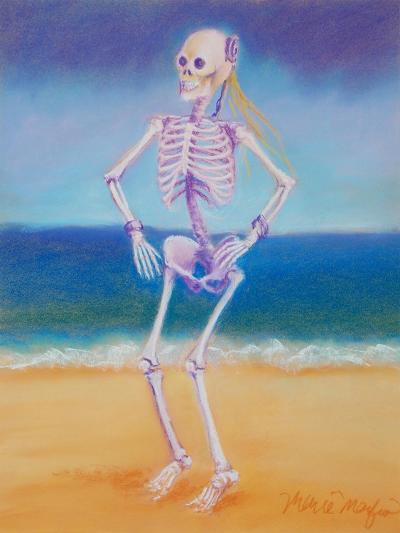 Skelly Dancer II-Marie Marfia-Giclee Print