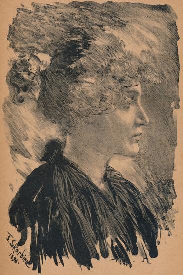 Sketch by F. Skarbina, 1896, (1898)-Franz Skarbina-Giclee Print