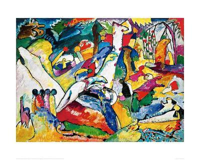 Sketch for Compositon II, 1910-Wassily Kandinsky-Giclee Print